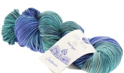 Пряжа Cool Wool Big hand-dyed Lana Grossa