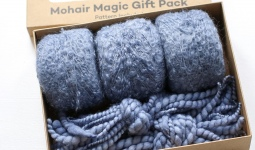 Adele`s Mohair Adeles Boucle Scarf Kit