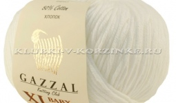 Пряжа GAZZAL (Газзал) Baby Cotton XL